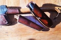 from Richard Oldham of his beaver bushcraft bepsoke leather pieces