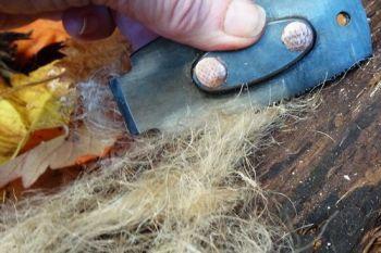 Fire buddy large tinder teasre by beaver bushcraft
