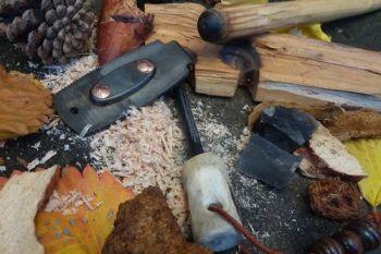 Fire buddy daddy multi tool made by beaver bushcraft