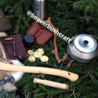 bushcraft boy jones of his BB tinder box