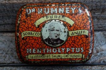 Vintage mini tobacco tinder box for beaver bushcraft rare
