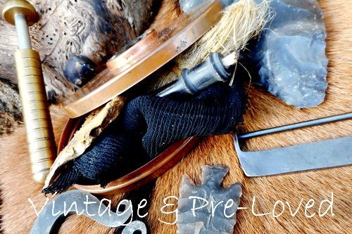 Beaver Bushcraft home page for vintage items