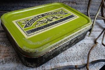 Vinatge old timers tobacco tin by beaver bushcraft