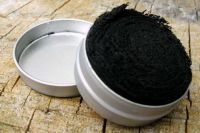Char Cloth in a Steel Tin - 100% Premium Quality - (85-4060)