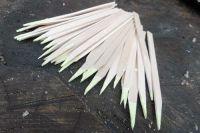 Wooden Sulphur Spill Matches x 50 - Hand Cut - Premium Quality (85-4080)