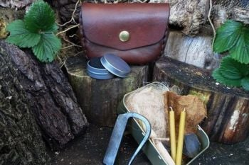 Vintage limited edition piece made by beaver bushcraft