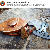 renzos hudson bay tinderbox with beaver bushcraft fire steel