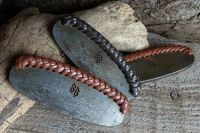 Leather Hand Braided Striker - Large - Traditional 'Flint & Steel' Striker (85-1500) - REDUCED