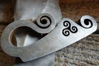 Curly 'Tiskele' Striker - Traditional 'Flint & Steel' - Small  (85-1506)