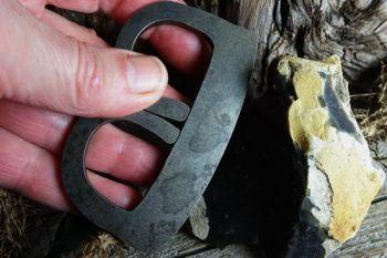 Fire steel B shape medieval striker by beaver bushcraft