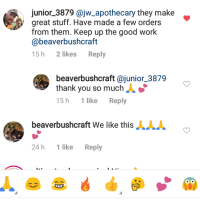 Instagram commnetson beaver bushcraft
