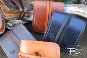 Amadou Fly Fishing Drier in Leather Wallet - Bespoke Leather Item - (45-9010)