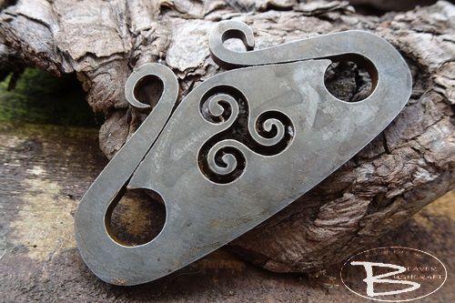 Viking Squid Striker with Tiskele Detail - Traditional 'Flint & Steel' (85-