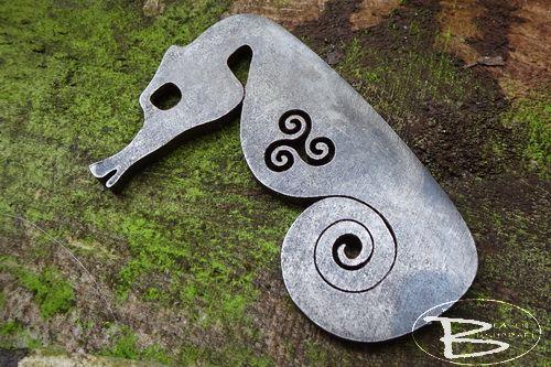 Triskele Sea Horse Traditional 'Flint & Steel' Fire Striker - (85-1246-02)
