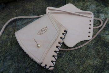 leather granfors bruks set in natural by Beaver Bushcraft
