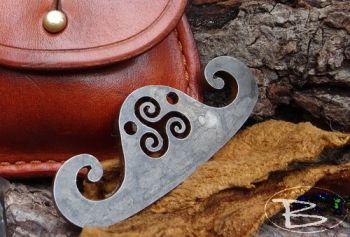 Vintage limited edition viking inspired fire steel striker by beaver bushcr