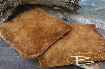 fly fishing amdou sheets processed by beaver bushcraft