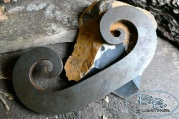 Fire steel striker extra large C made by beaver bushcraft