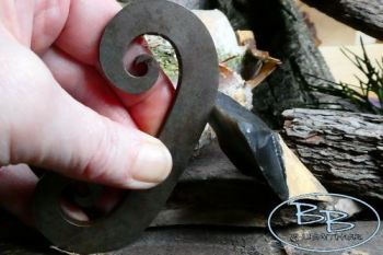 Fire steel classic larger C shape made by beaver bushcraft