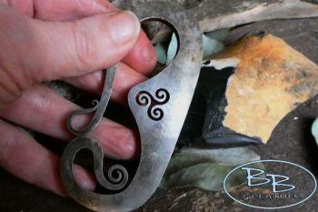 Fire steel hook curl by bb