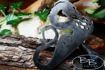 fire steel 2021 fire breathing dragon with runes by beaver bushcraft