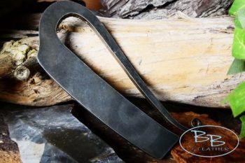 Fire steel large R shaped fire steel by beaver bushcraft