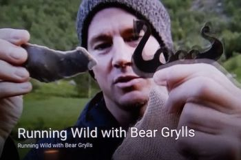 Channing Tatum with his Beaver Bushcraft viking fire steel