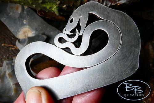 'Fire Snake' - Traditional 'Flint & Steel' Fire Striker - (85-1223)