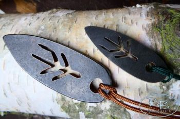 Fire steels mini and larger version of the viking pendants by beaver bushcr