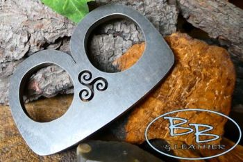Fire steel medieval B with Triskele by beaver bushcarft