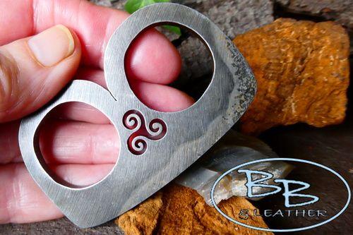 Medieval 'B' Striker - Traditional 'Flint & Steel' with Triskele Detail (85