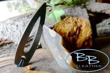 Fire steel viking point pendant striker made by beaver bushcraft