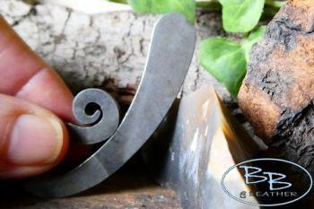 Fire steel monkey tail traditional striker by beaver bushcraft