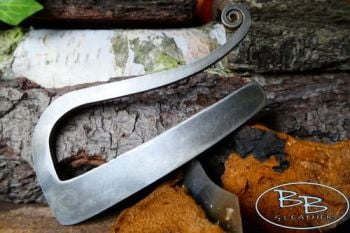 FIRE STEEL elegant R shaped striker large version by beaver bushcraft