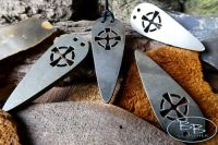 'Celtic Cross' Pendant Fire Steel Striker  - (85-1804-50)