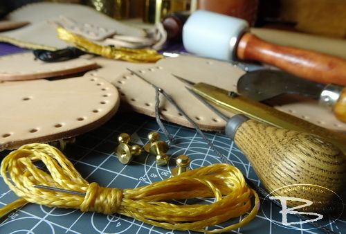 Leather make your own kits generic pic for beaver bushcraft website.JPG