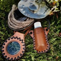 Andy Turner of his fave Beaver bushcraft products