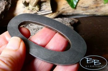 Fire steel classic oval design made by beaver bushcraft