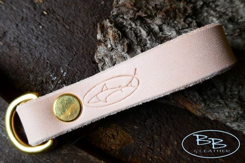 BESPOKE - Utility Belt Loop with Solid Brass 'D' Ring in 16mm or 25mm Width