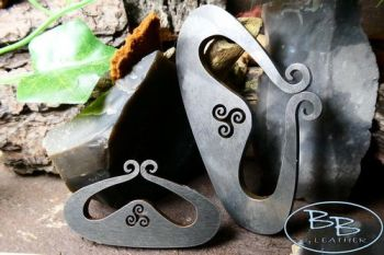 Fire steel viking humps with triskele 2 sizes by beaver bushcraft 85 1978