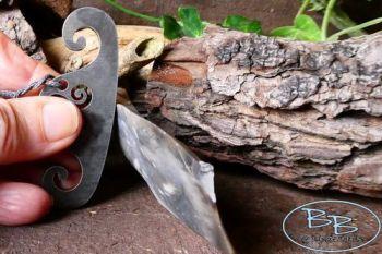 Fire steel thors viking hammer striker with flint by beaver bushcraft 85 19