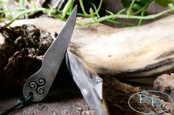 Fire steel dibber 85 1300 with flint by beaver bushcraft