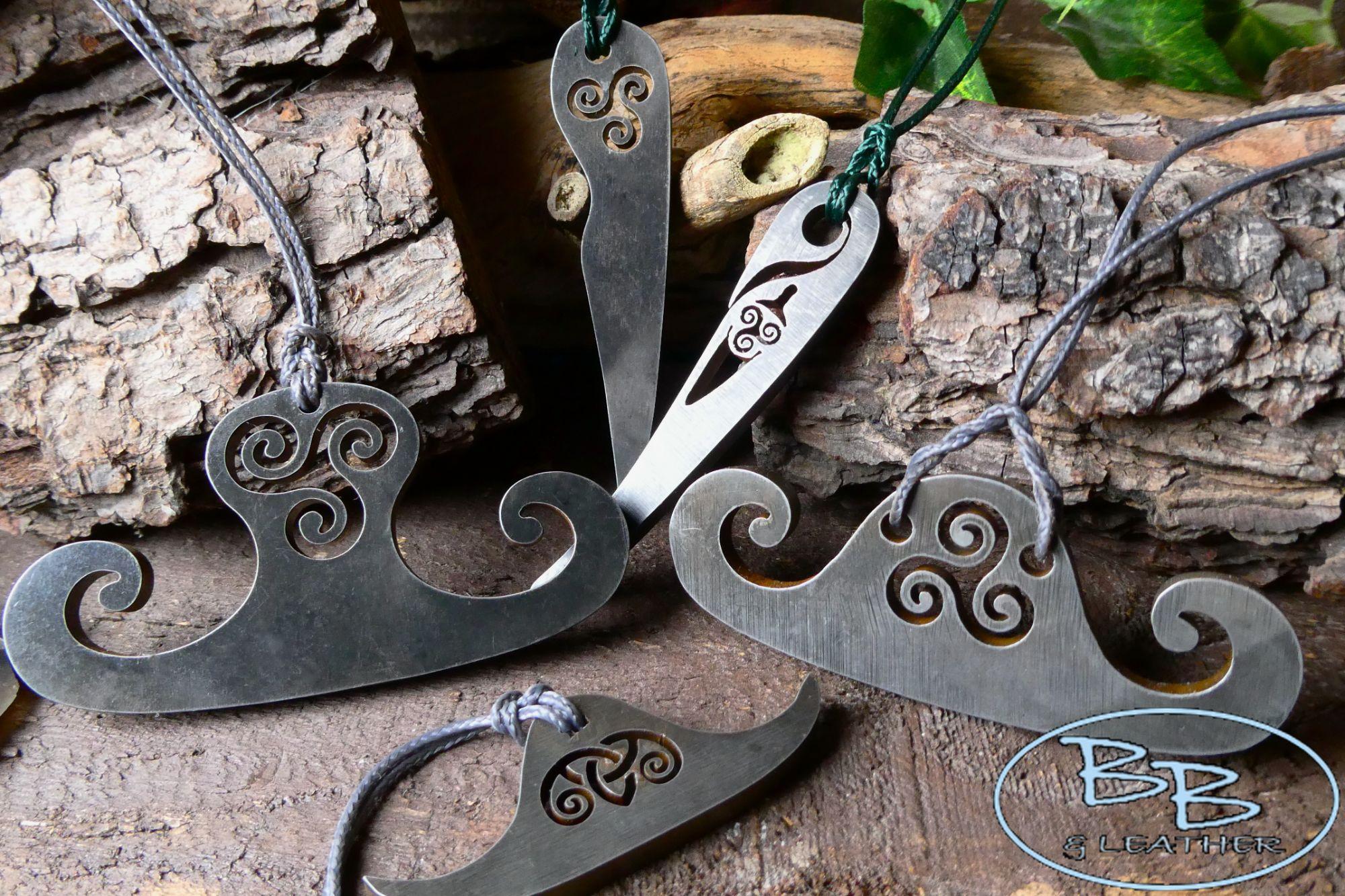 Main fire steel pick viking style thors hammer strikers by beaver bushcraft