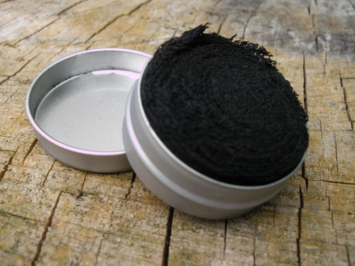 500-Char Cloth In A Round Tin