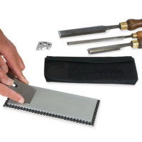 8 x 3 Inch Continuous Surface Double Sided Bench Stone - 300/1000 grit (25-W8-FC)
