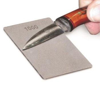 Double-Sided Credit Card 'Carvers' Stone - 600/1000 grit (25-CS-FF)