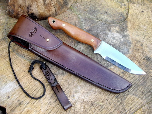 500-fb-custom-made -sheath-with bush-knife