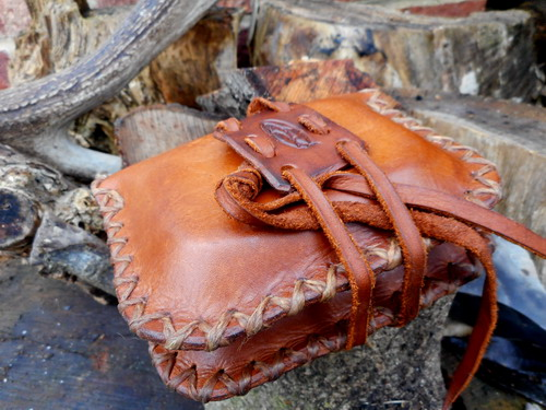 leather-hard-the pocket pioneers tinder pouch double sided.folded on side j
