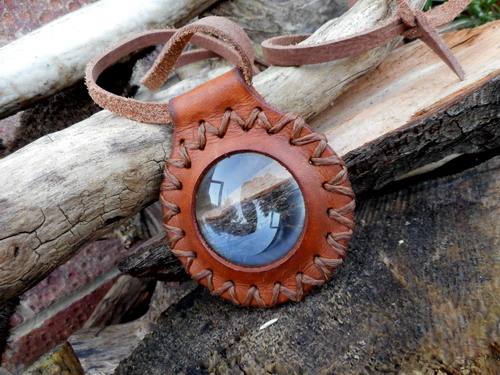 leather-fire-hand stitched solar ignition