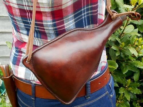 leather-Water Bottles-worn on back (helen)